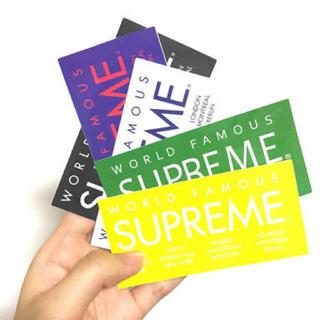 シュプリーム(Supreme)のsupreme 逃げ恥 ステッカー 新垣結衣 正規品 5枚 セット(その他)