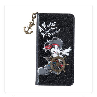 ディズニー(Disney)のスマホケース 海賊ミッキー ディズニー パイレーツサマー(モバイルケース/カバー)