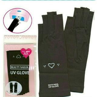 新品未使用 ビューティーネイラー UVカットグローブ(手袋)