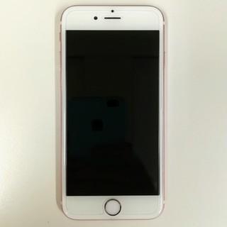 アップル(Apple)の値下げ! iPhone6s au 64GB ローズゴールド 利用制限○(スマートフォン本体)