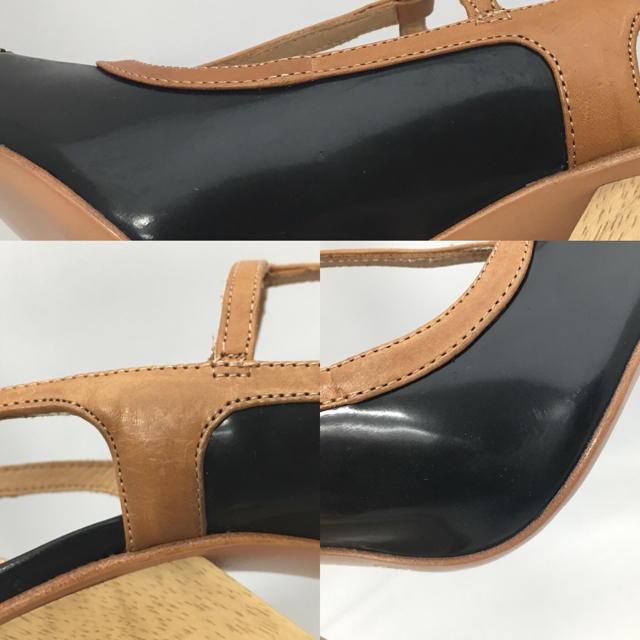 COACH(コーチ)の値下げ!!コーチ☆スネーク Tストラップ サンダル☆23cm レディースの靴/シューズ(サンダル)の商品写真