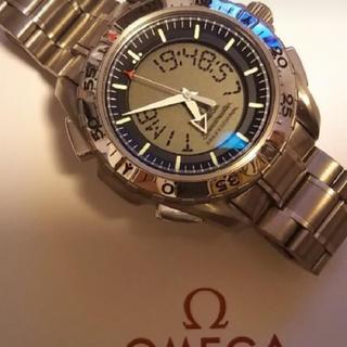 オメガ(OMEGA)のオメガ スピードマスター プロフェッショナル X-33 3290.50   (金属ベルト)