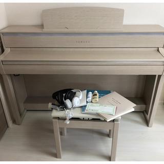 ヤマハ(ヤマハ)のYAMAHA グラビノーバ【CLP-675】ホワイトアッシュ(電子ピアノ)