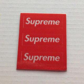シュプリーム(Supreme)のSupreme 3M Reflective mini ステッカー 3枚  (ノベルティグッズ)