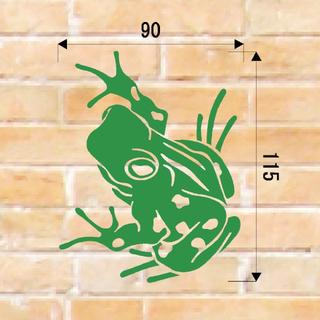 ★カッティングシート カッティングステッカー オーダー  蛙★(しおり/ステッカー)