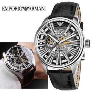 Emporio Armani - 新品 保証付 エンポリオアルマーニ 自動巻き 腕時計 AR4629