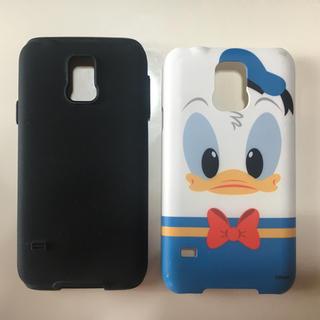 ディズニー(Disney)のGalaxy s5 カバー ドナルドダック(モバイルケース/カバー)