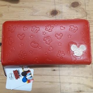 ディズニー(Disney)の新品タグ付き ミッキーマウス 合成皮 長財布 選べるカラー(財布)