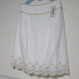 アルファキュービック(ALPHA CUBIC)のスカート   LL(ひざ丈スカート)