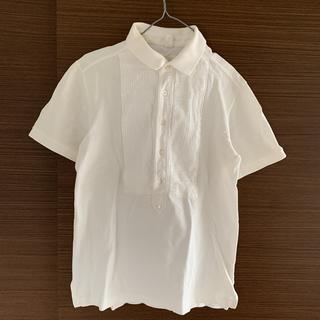 【エィス】A ポロシャツ / 白、Lサイズ
