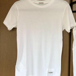 ミュウミュウ(miumiu)のmiumiu2枚セット(Tシャツ(半袖/袖なし))