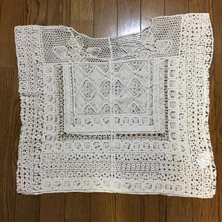 シマムラ(しまむら)の美品!かぎ針編み ニット(ニット/セーター)