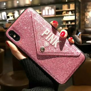 ヴィクトリアズシークレット(Victoria's Secret)のキラキラ iphoneケース  (iPhoneケース)
