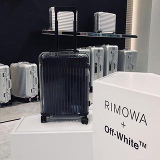 リモワ(RIMOWA)のrimowa off white 7/7リモワ表参道購入 確実正規品 付属品完備(トラベルバッグ/スーツケース)