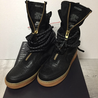 ナイキ(NIKE)の新品 ナイキ SF エア フォース 1 HI ブーツ 24.5cm (ブーツ)
