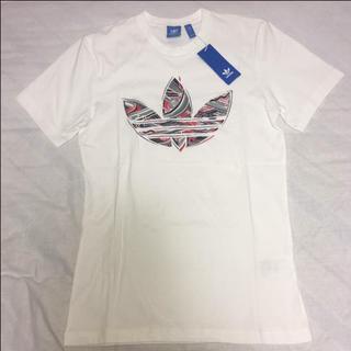 アディダス(adidas)の新品 M 白 アディダス Originals Tシャツ(Tシャツ/カットソー(半袖/袖なし))