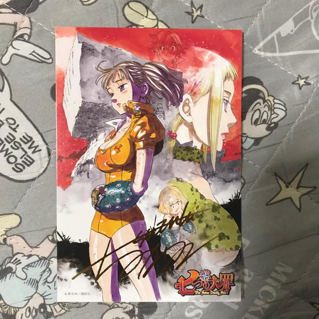 七つの大罪 ポストカード イラストカードの通販 By Ailescomets Shop