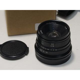 キヤノン(Canon)の中古 muk CL25EOSM 中華レンズ EOS用 25mm f1.8 (レンズ(単焦点))