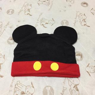 ディズニー(Disney)のミッキー★ニット帽(ニット帽/ビーニー)