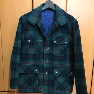 ヴァンヂャケット(VAN Jacket)の【OLD】VAN JAC ハンティング ジャケット ウール M タータンチェック(ブルゾン)