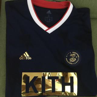 アディダス(adidas)のkith×adidas シャツ(Tシャツ/カットソー(半袖/袖なし))