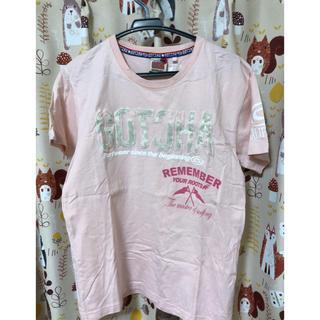 ガッチャ(GOTCHA)のGOTCHA  Tシャツ ピンク(Tシャツ(半袖/袖なし))