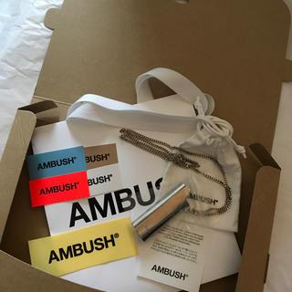 アンブッシュ(AMBUSH)のステッカーシールショッパー付!AMBUSH ライタケース ネックレス (ネックレス)