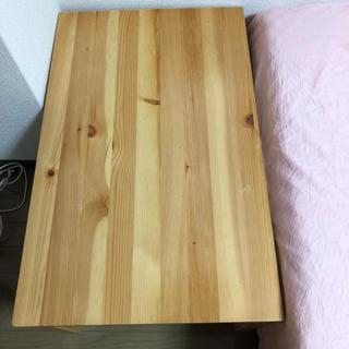 ムジルシリョウヒン(MUJI (無印良品))の無印良品  折りたたみテーブル   パイン材(折たたみテーブル)