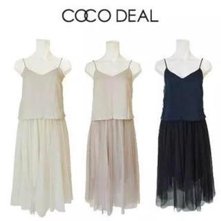 ココディール(COCO DEAL)のcoco deal  (ロングワンピース/マキシワンピース)