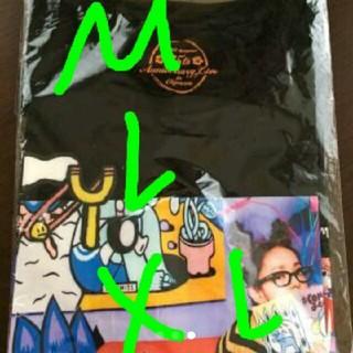 新品未開封    安室奈美恵  ブラック XLサイズ  25周年 沖縄 限定発売(ミュージシャン)