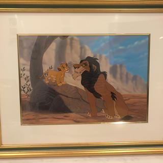 ディズニー(Disney)のディズニーセル画  ライオンキング(絵画/タペストリー)