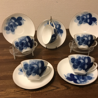 オクラ(OKURA)のカップ&ソーサー okura 5客(食器)