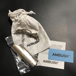 アンブッシュ(AMBUSH)のシール付! 送料込  AMBUSH ライターケース ネックレス(ネックレス)