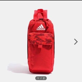 アディダス(adidas)のポシュレ ももクロ ボディバッグ 赤(アイドルグッズ)