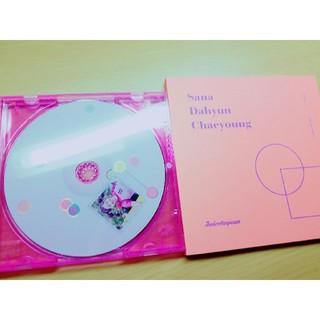 ウェストトゥワイス(Waste(twice))のTWOCE  LIKEY ダヒョン CD ブックレット(K-POP/アジア)