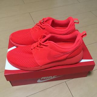 ナイキ(NIKE)のナイキ Nike ROSHE ONE SE ローシワン レッド(スニーカー)