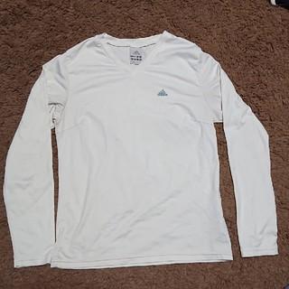 アディダス(adidas)のアディダス 長袖シャツ M(Tシャツ(長袖/七分))