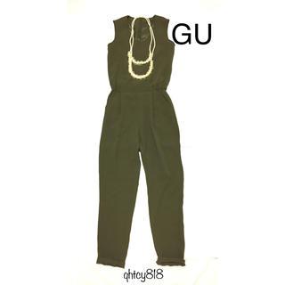 ジーユー(GU)のGU オールインワン(S)+エコパールネックレスSET(オールインワン)