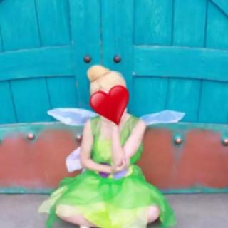 ディズニー(Disney)のティンカーベル衣装 ハロウィン仮装 ディズニー(衣装一式)