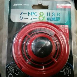 USB接続! 小型扇風機!(オフィス/パソコンデスク)