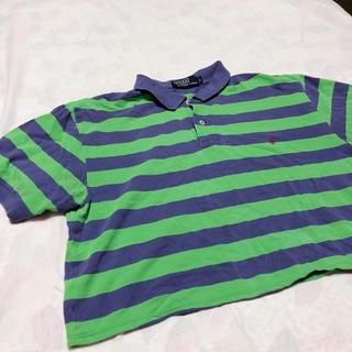 スピンズ(SPINNS)のリメイクポロシャツ(ポロシャツ)
