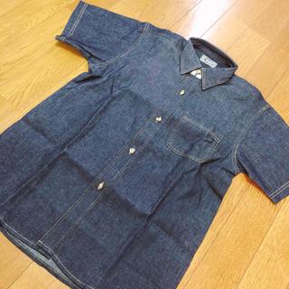 シーケーカルバンクライン(ck Calvin Klein)の新品 カルバンクライン デニム半袖シャツ (Tシャツ/カットソー)