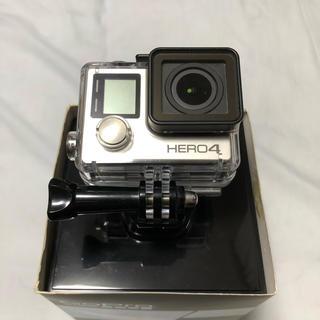 ゴープロ(GoPro)のGoPro HERO4 SILVER 完備品 + マウント各種(コンパクトデジタルカメラ)