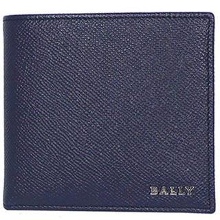 バリー(Bally)のBALLY バリー 6202745 ダークネイビー 二つ折り財布 財布 小銭入(折り財布)