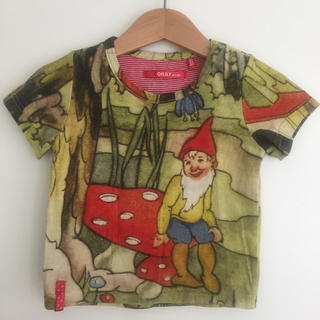 オイリリー(OILILY)のオイリリー OILLY ドワーフ Tシャツ 80 90 100(Tシャツ/カットソー)