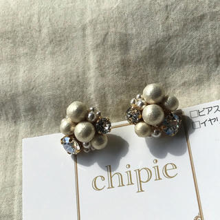 ザラ(ZARA)の021 pearl × bijou bubble pierce(ピアス)