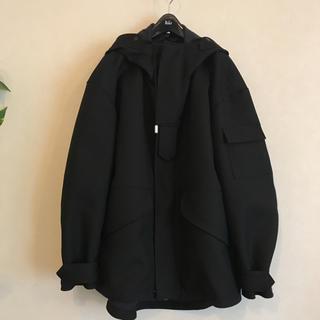 エディフィス(EDIFICE)の22日迄値下!新品THE RERACSザリラクス MENコート ジャケット48黒(モッズコート)