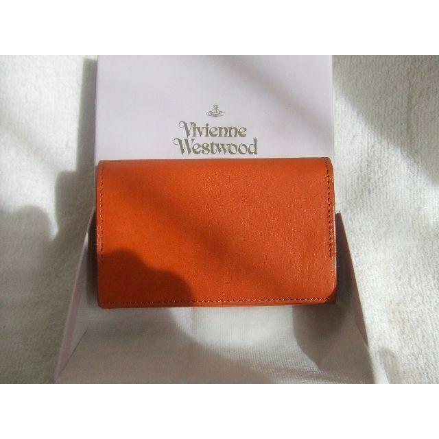Vivienne Westwood(ヴィヴィアンウエストウッド)の新品未使用ヴィヴィアンウエストウッド名刺入れカードケース レディースのファッション小物(名刺入れ/定期入れ)の商品写真