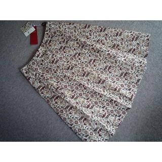 アマカ(AMACA)の新品 AMACA アマカ ROSSIプリントふんわりスカート 24840円 38(ひざ丈スカート)