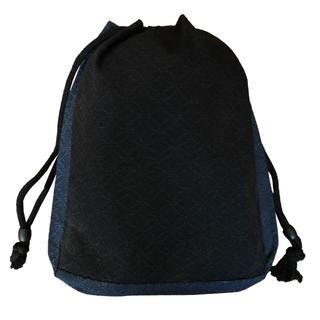 新品送料込み 男性用 信玄袋 巾着 ゆかたバッグ 着物 K197(和装小物)